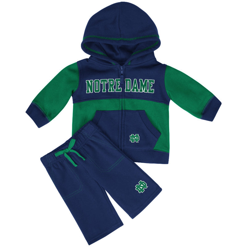 Notre Dame Baby Sweatsuit