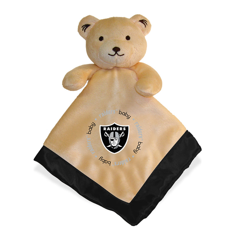 Embroidered Raiders Baby Security Blanket