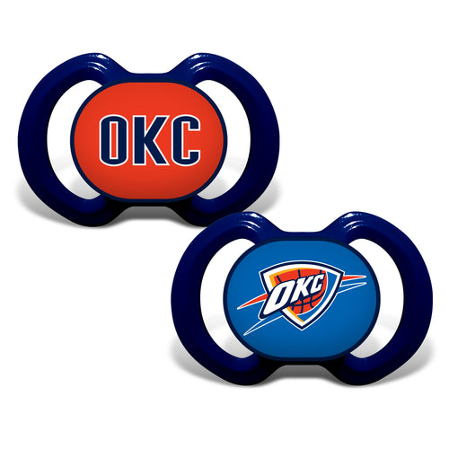 Oklahoma City Thunder Variety Pacifiers