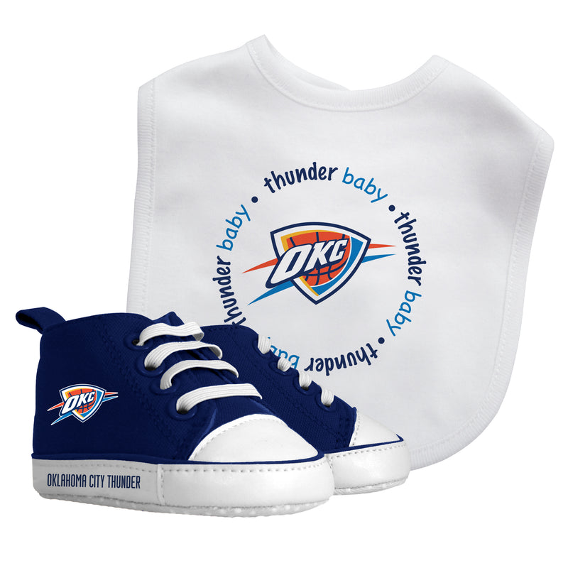 Thunder Baby Bib with Pre-Walking Shoes