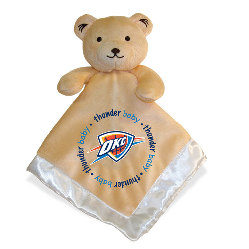 Embroidered OKC Thunder Baby Security Blanket