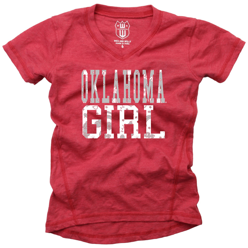 Oklahoma Girl Blended V-Neck Tunic