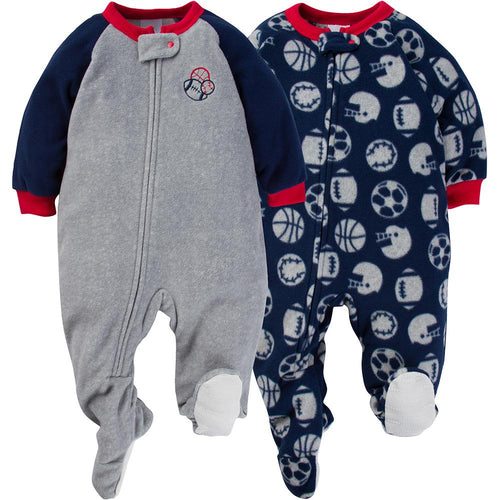 Lil' Sports Dreamer Baby Fleece Sleeper Set