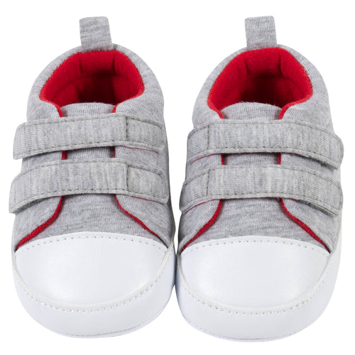 Baby Boys' Sporty Heather Gray Shoes