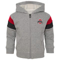 Buckeyes Zip Up Sweatshirt