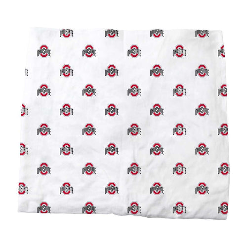 The Ohio State Organic Cotton Fitted Baby Crib Sheet