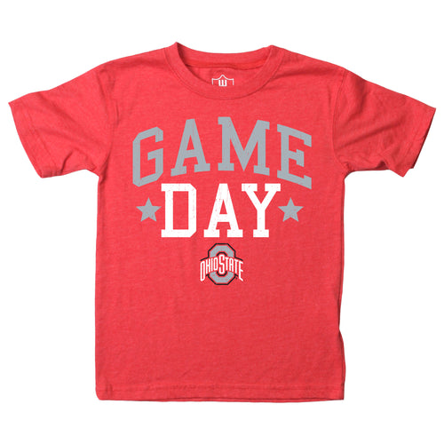 Ohio State University Toddler Game Day Tee