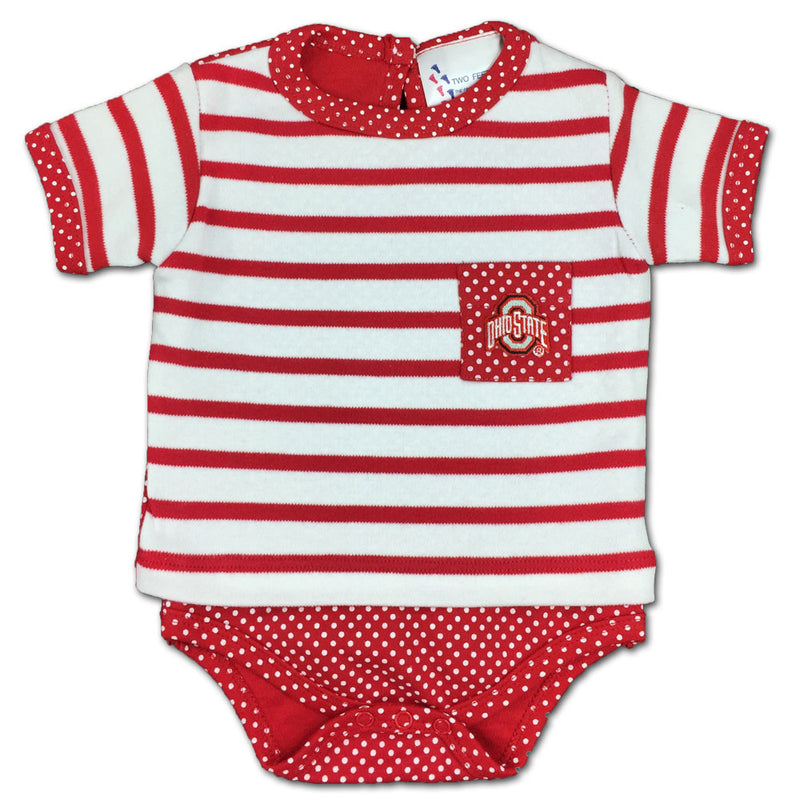 Buckeye Baby Dots and Stripes