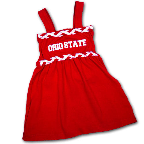 Ohio State Infant Braided Dream Dress (2T Only)