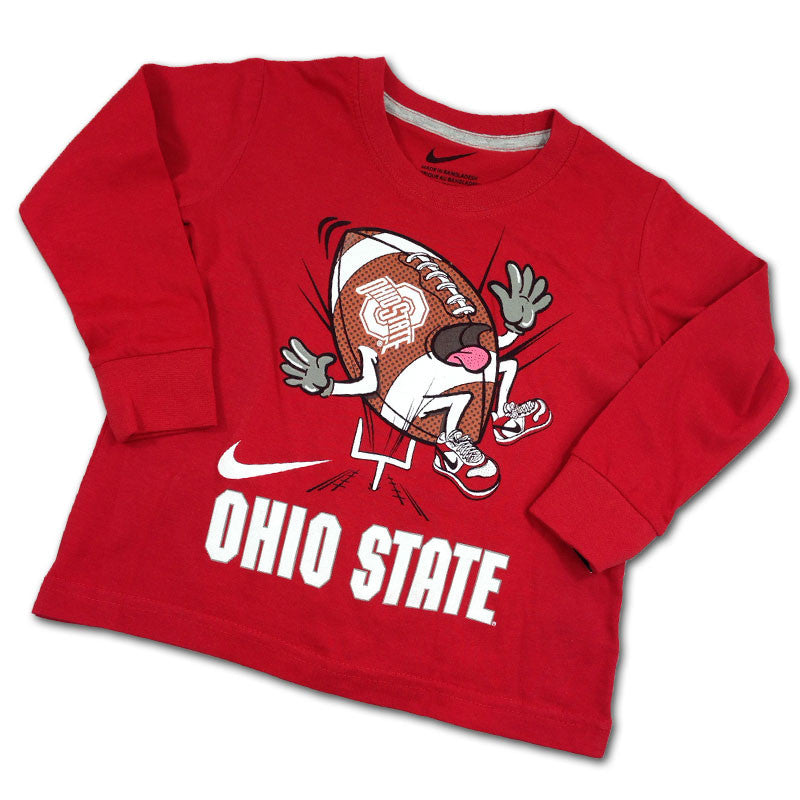 Ohio State Funny Football LS T-Shirt