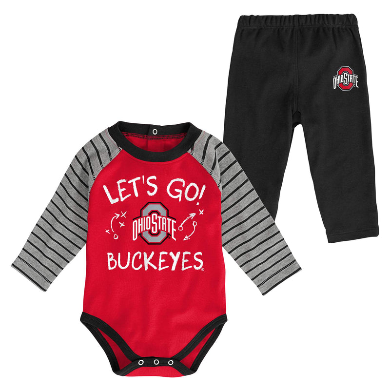 Ohio State Long Sleeve Bodysuit and Pants