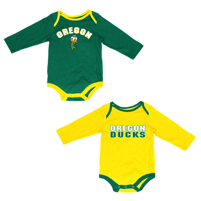 Oregon Fan Bodysuit 2-Pack