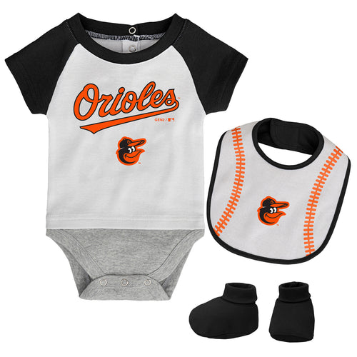 Baltimore Orioles Baby Outfit