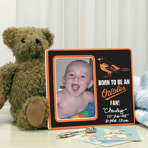 Born To Be an Orioles Fan Picture Frame