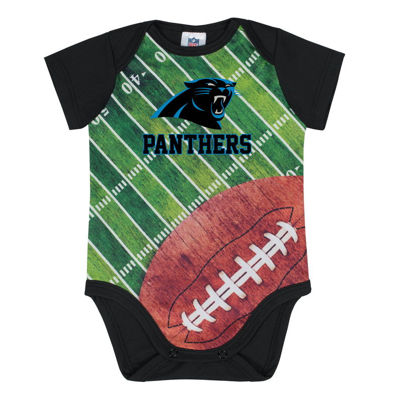 Panthers Baby Boy Short Sleeve Bodysuit
