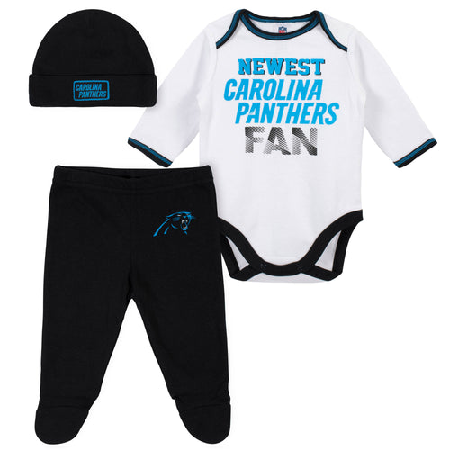 buy online ce253 e4714 NFL Infant Clothing – Carolina Panthers Baby Apparel – babyfans