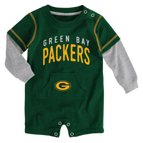 Packers Newborn Legacy Romper