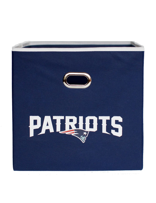 New England Patriots Storage Cube