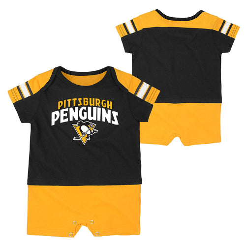 Penguins Infant Romper