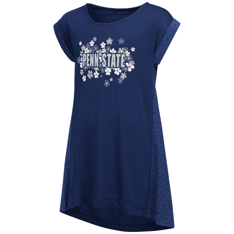 Nittany Lions Girl Dots and Daisies Dress