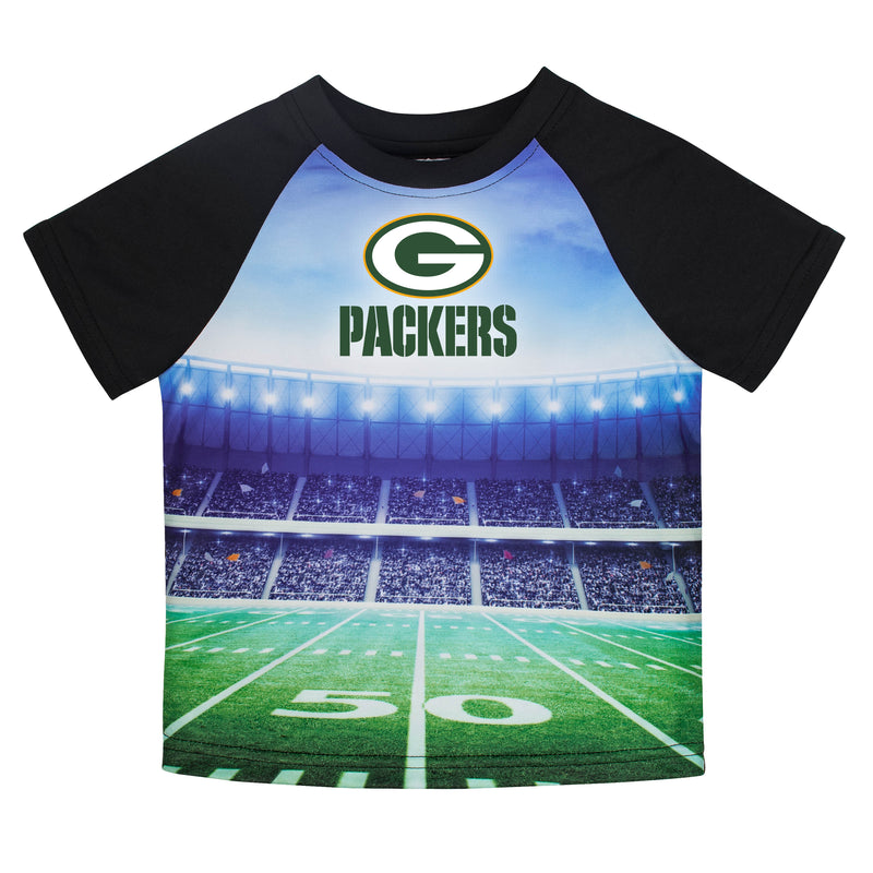 Packers Short Sleeve Stadium Tee
