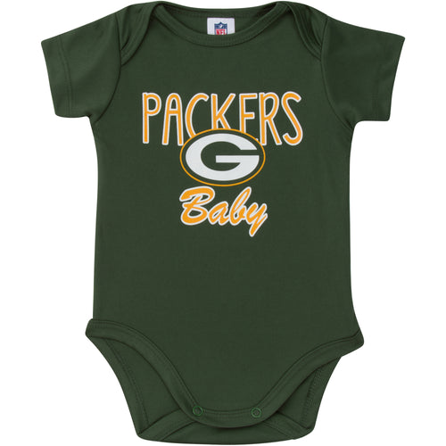 Packers Baby Short Sleeve Bodysuit