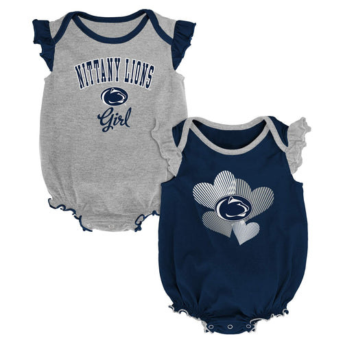 Penn State Ruffled Bodysuit Set