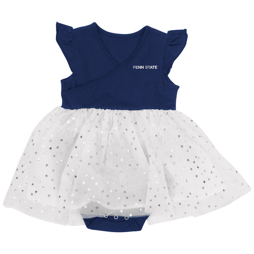 Penn State Baby Girl Tutu Bodysuit Dress