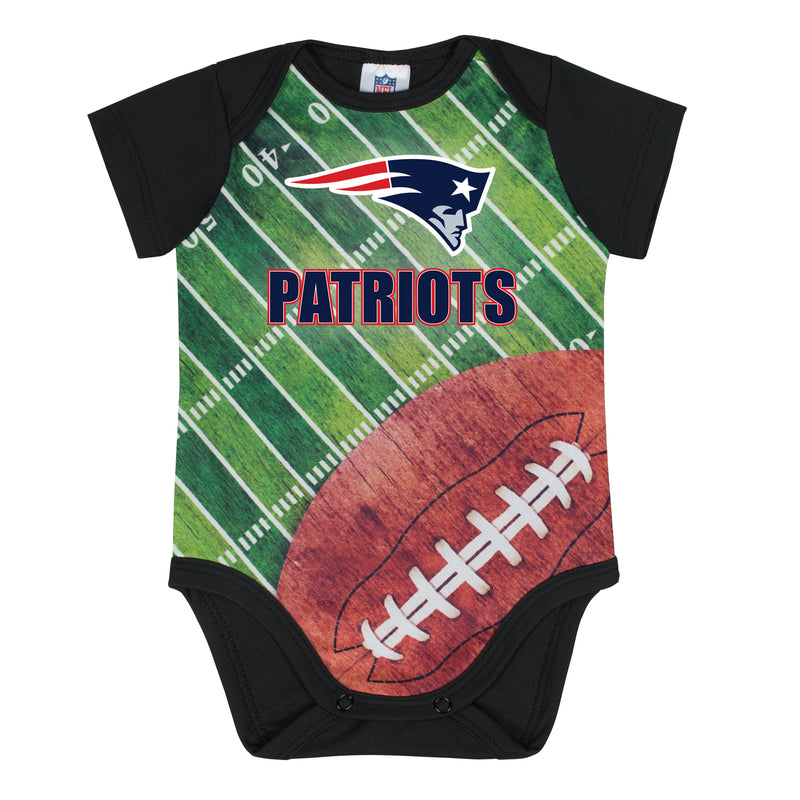 Patriots Baby Boy Short Sleeve Bodysuit