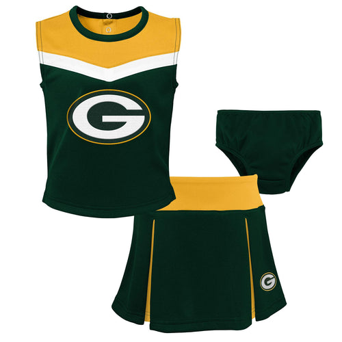 Packers Girl 3 Piece Cheerleader Set