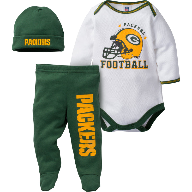 Packers Baby 3 Piece Set