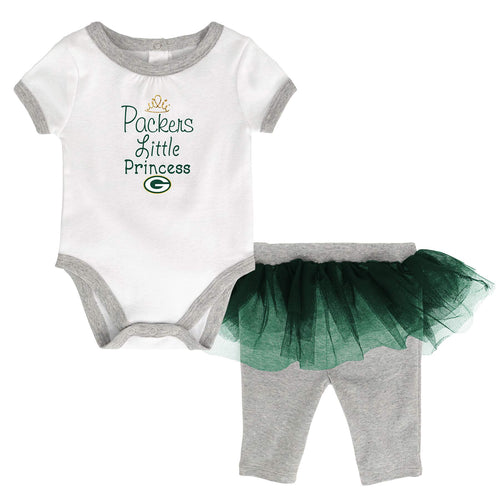 Packers Princess Bodysuit with Tutu Leggings