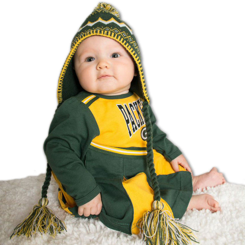 Packers Baby Cheerleader Dress (24M Only)