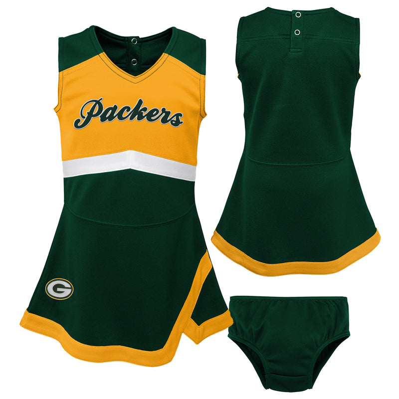 Green Bay Packers Infant Cheerleader Dress