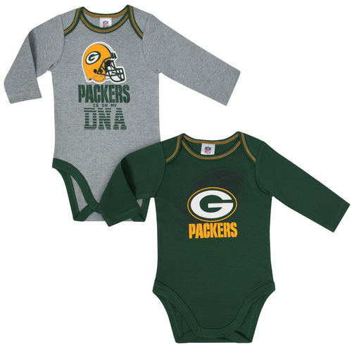 Packers Is In My DNA 2 Pack Long Sleeved Onesies