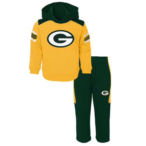 Packers Infant Hooded Fleece Lined Set