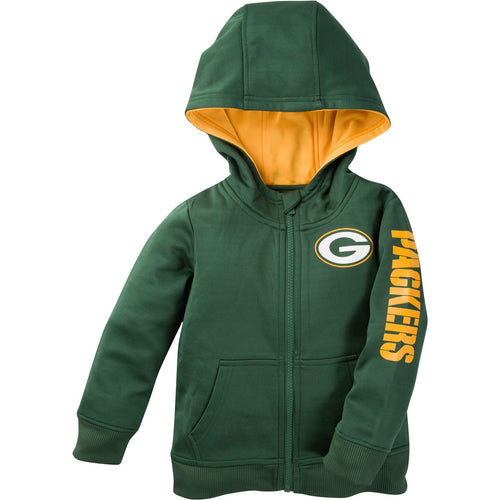 Zip Up Packers Kid Jacket