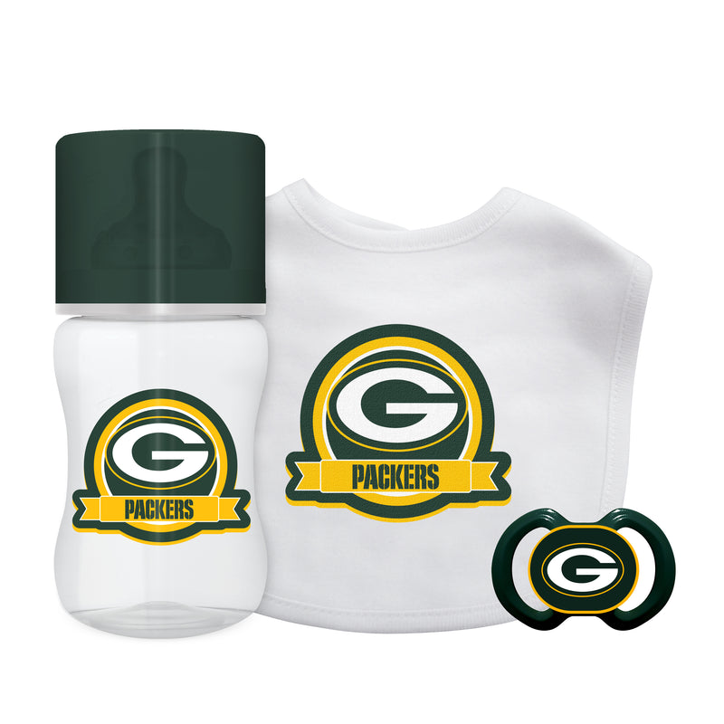 Green Bay Packers 3 Piece Infant Gift Set