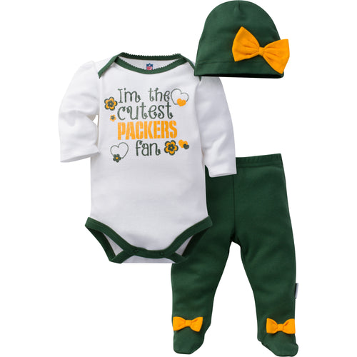 Cutest Packers Girl Set
