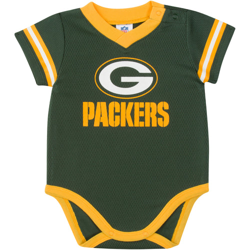 Packers Baby Jersey Bodysuit