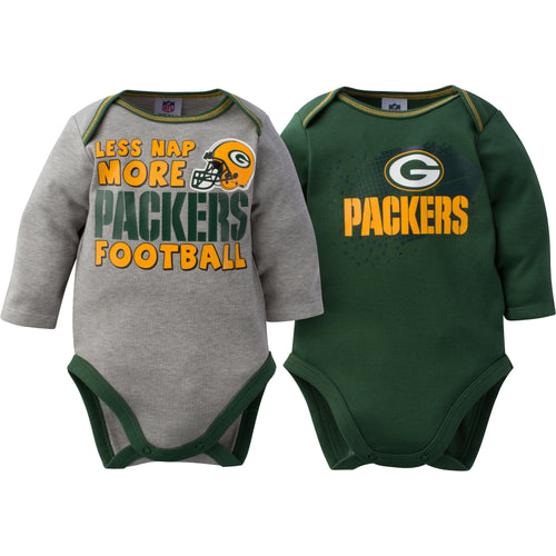 Baby Packers Long Sleeve Onesie Two Pack
