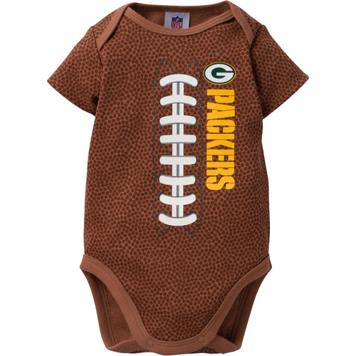 Packers Baby Fan Pigskin Onesie