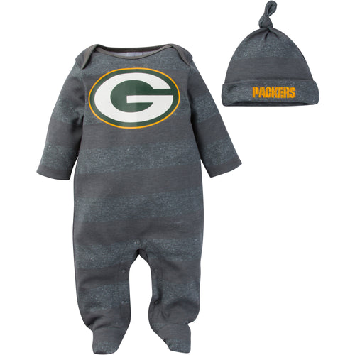 Packers Baby Coverall with Cap