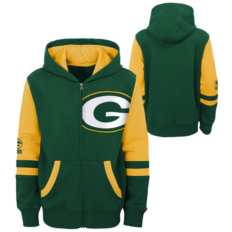 Green Bay Packers Zip Up Sweatshirt
