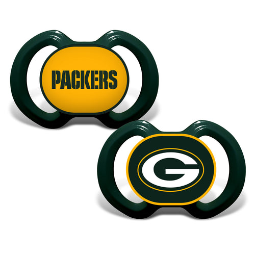 Green Bay Packers Variety Pacifiers