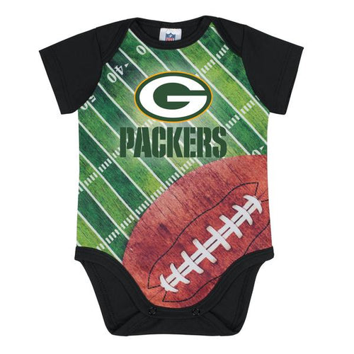 Packers Baby Boy Short Sleeve Bodysuit