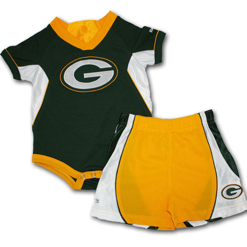Green Bay Baby Performance Onesie and Short Set (24M Only)