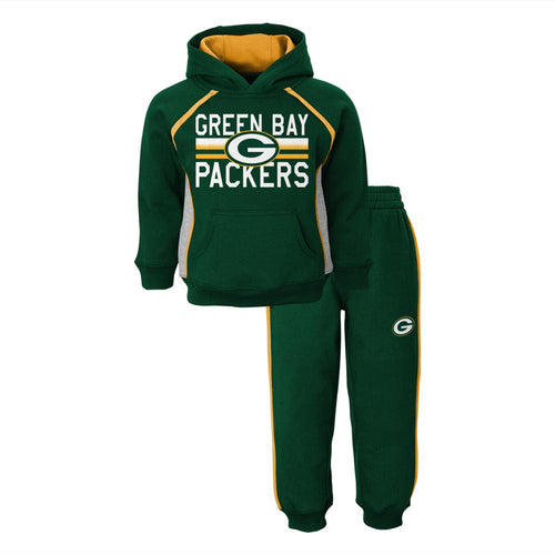 Packers Fan Sweatshirt Fleece Set