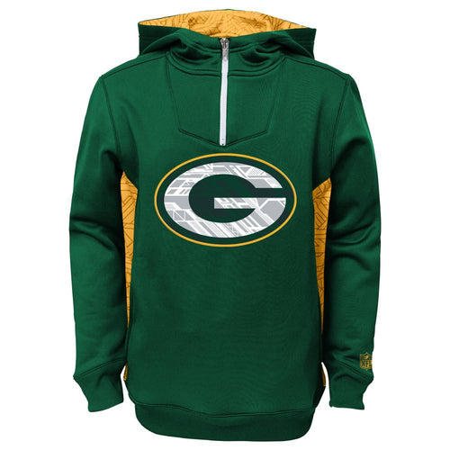 Green Bay Packers Half Zip Sweatshirt