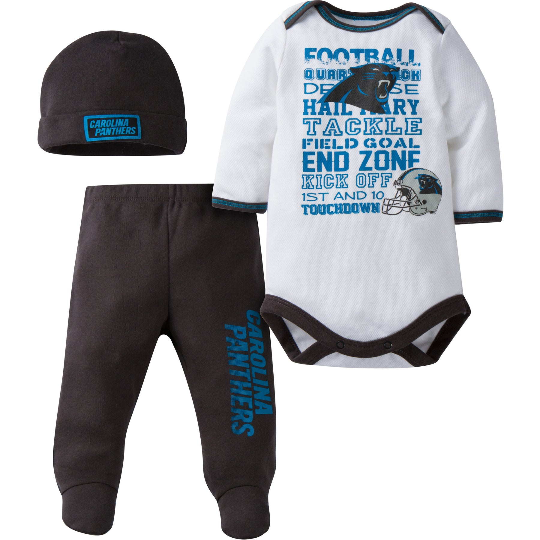 Panthers Baby 3 Piece Outfit – babyfans